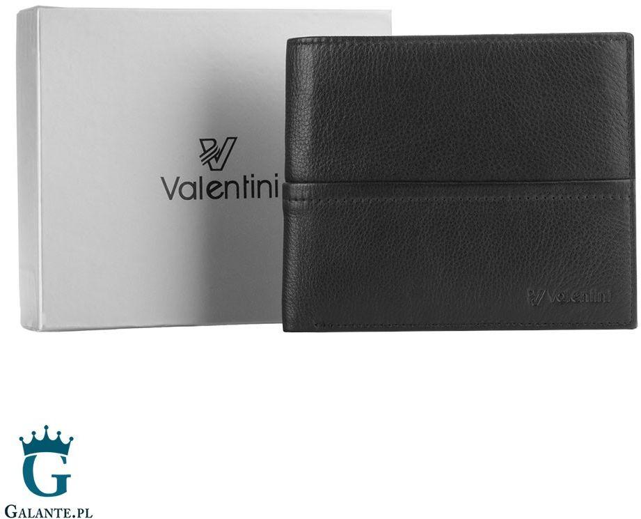 Portfel męski valentini 154-502 ferrari red & black