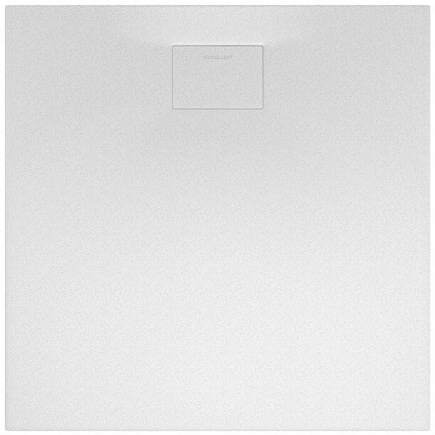 Excellent Lavano Brodzik 90X90 kwadratowy SLIM z pokrywą biały BREX.1102.090.090.WHN