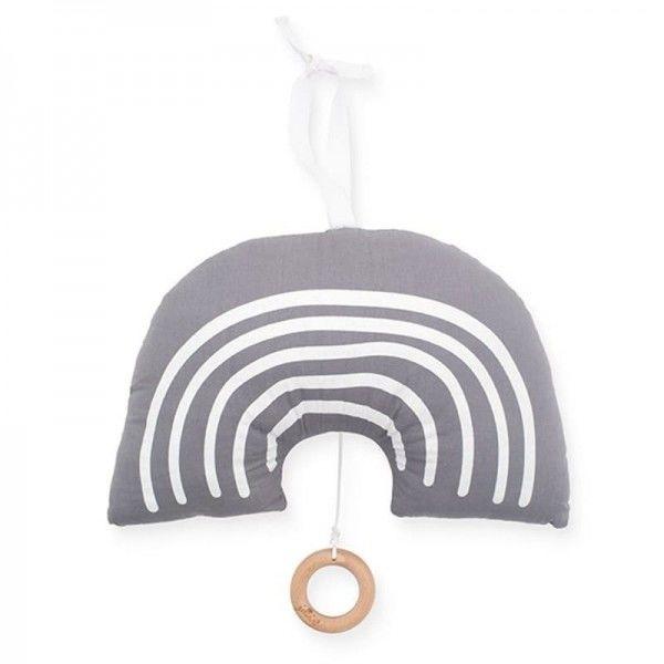 Jollein - Baby & Kids - Jollein - Pozytywka do Usypiania Rainbow Grey