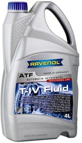 Olej przekładniowy Ravenol ATF T-IV Fluid 4L