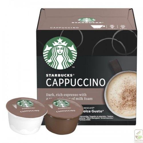 STARBUCKS Cappuccino 12 Kapsułek Dolce Gusto 120g