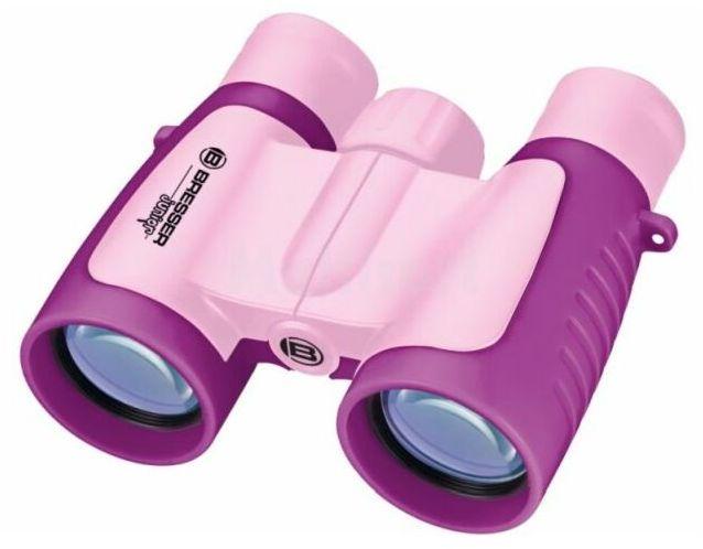 Lornetka 3x30 Junior dla dzieci różowa