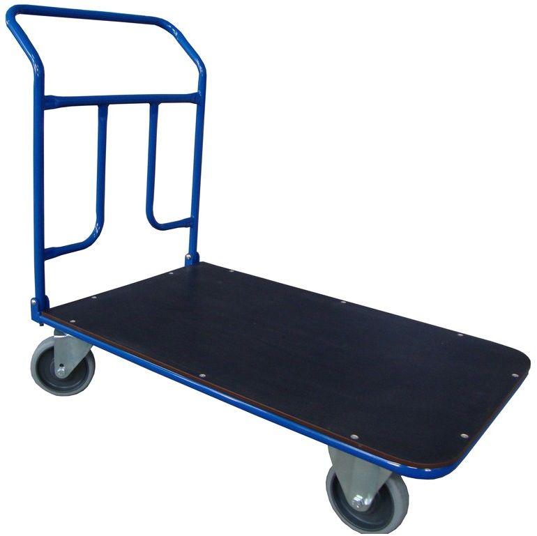 Ręczny wózek magazynowy ze składanym uchwytem, 400kg