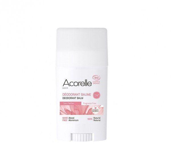 ACORELLE Organiczny dezodorant w sztyfcie Bezzapachowy ECOCERT 40g