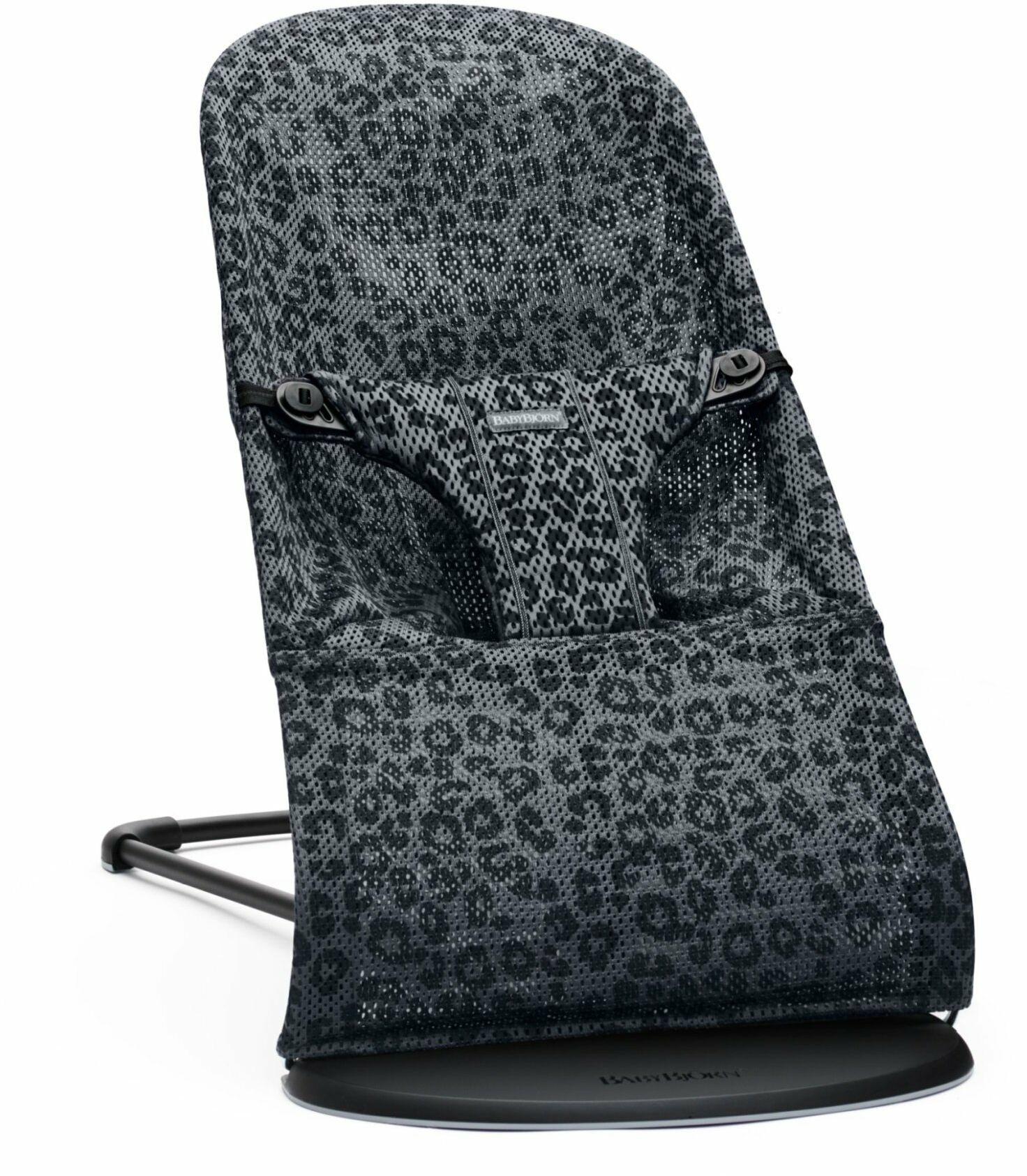 BABYBJORN - leżaczek BLISS MESH - Antracytowy/Leopard