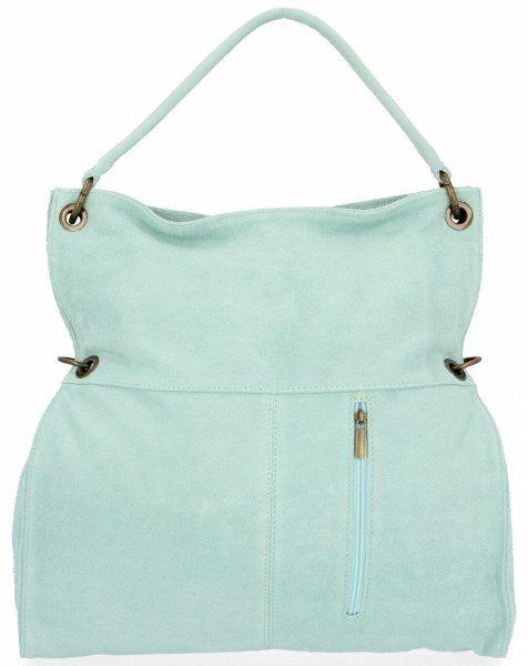 Torebki Skórzane typu Shopper Bag firmy VITTORIA GOTTI Mięta (kolory)