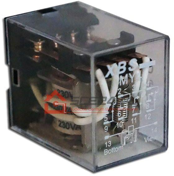 Przekaźnik przemysłowy R4 cewka 24V DC
