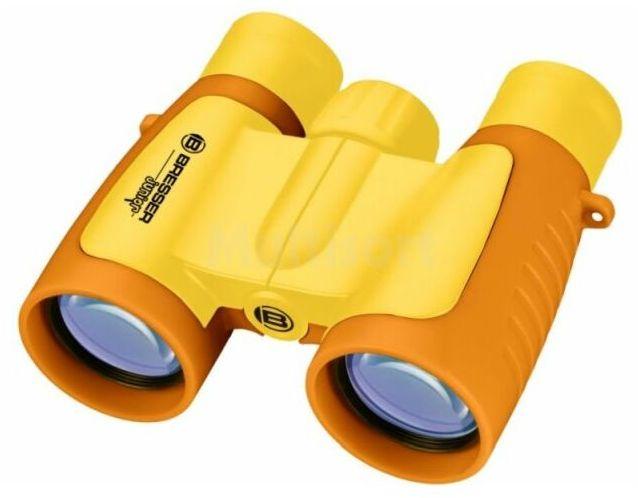 Lornetka 3x30 Junior dla dzieci żółta