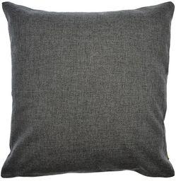 Poduszka 60 x 60 cm wypełnienie 550 g, ciemnoszara, 60_x_60_cm