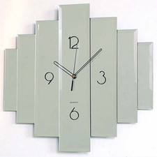 Zegar naścienny z luster