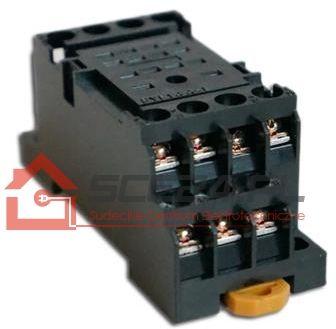 Podstawka przekaźnika na szynę TH35/DIN