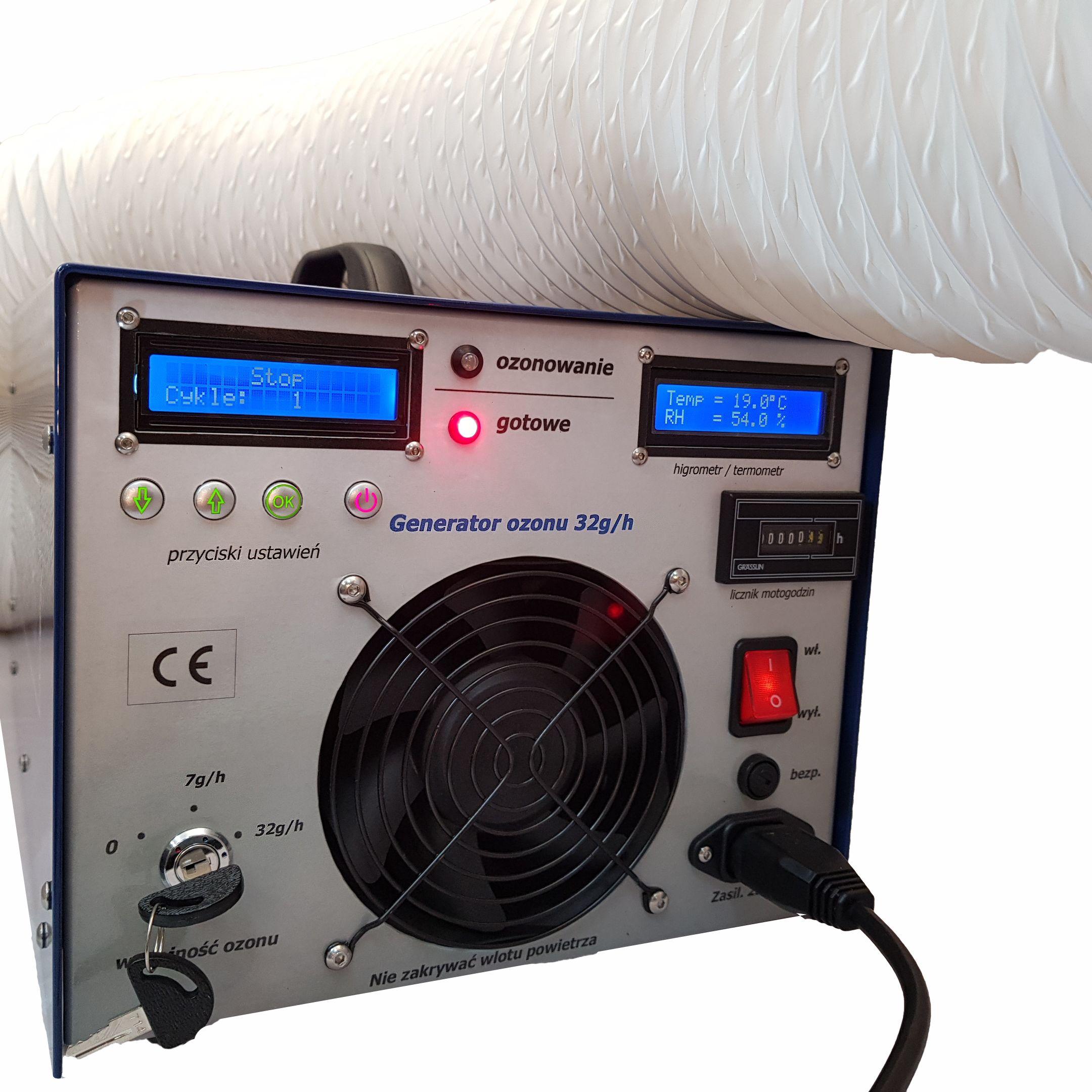 Generator Ozonu 32g/h ozonator DS-32-RHR