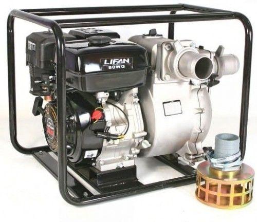 Motopompa szlamowa Lifan 80WG-SP silnik 9KM 1340l/mni