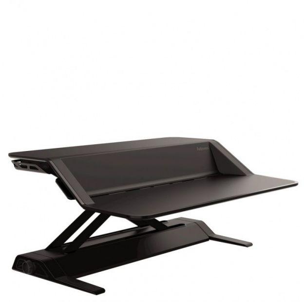 Stanowisko do pracy FELLOWES Sit-Stand Lotus - czarne (0007901)