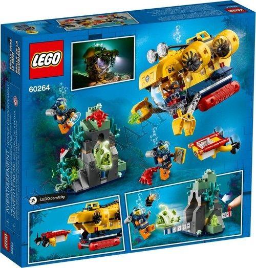 LEGO Łódź podwodna badaczy oceanu 60264