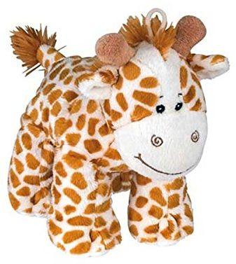 Divers Pluszowe zwierzątko żyrafa, z dźwiękiem, 20 cm