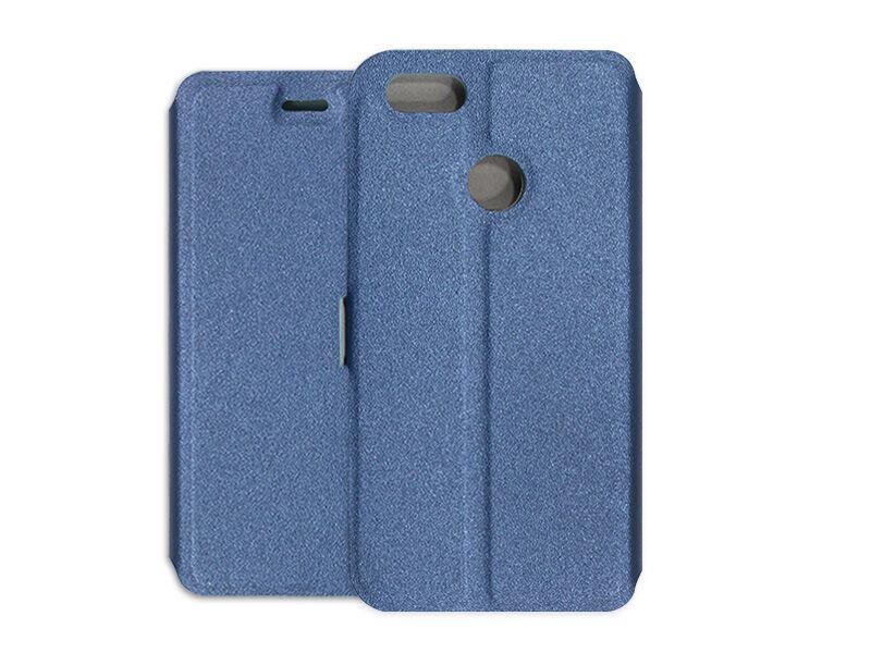 Huawei P9 Lite Mini - etui na telefon Wallet Book - granatowy