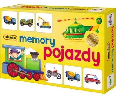 Adamigo Memory mini - pojazdy