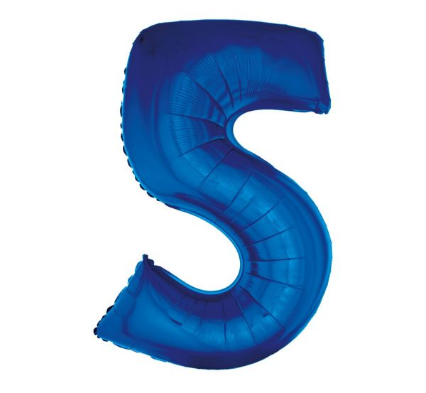 Balon foliowy 5 niebieski 92cm 1szt FG-C85N5