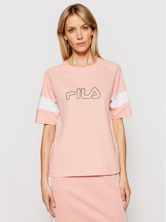Fila T-Shirt Jacklyn 683283 Różowy Regular Fit