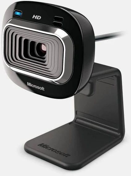 Microsoft LifeCam HD-3000 Webcam for Business, HD, USB 2.0, Skype certified