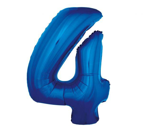 Balon foliowy 4 niebieski 92cm 1szt FG-C85N4