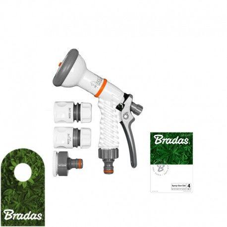 Zestaw z pistoletem wielofunkcyjnym WHITE LINE WL-EN1TSET BRADAS 4529