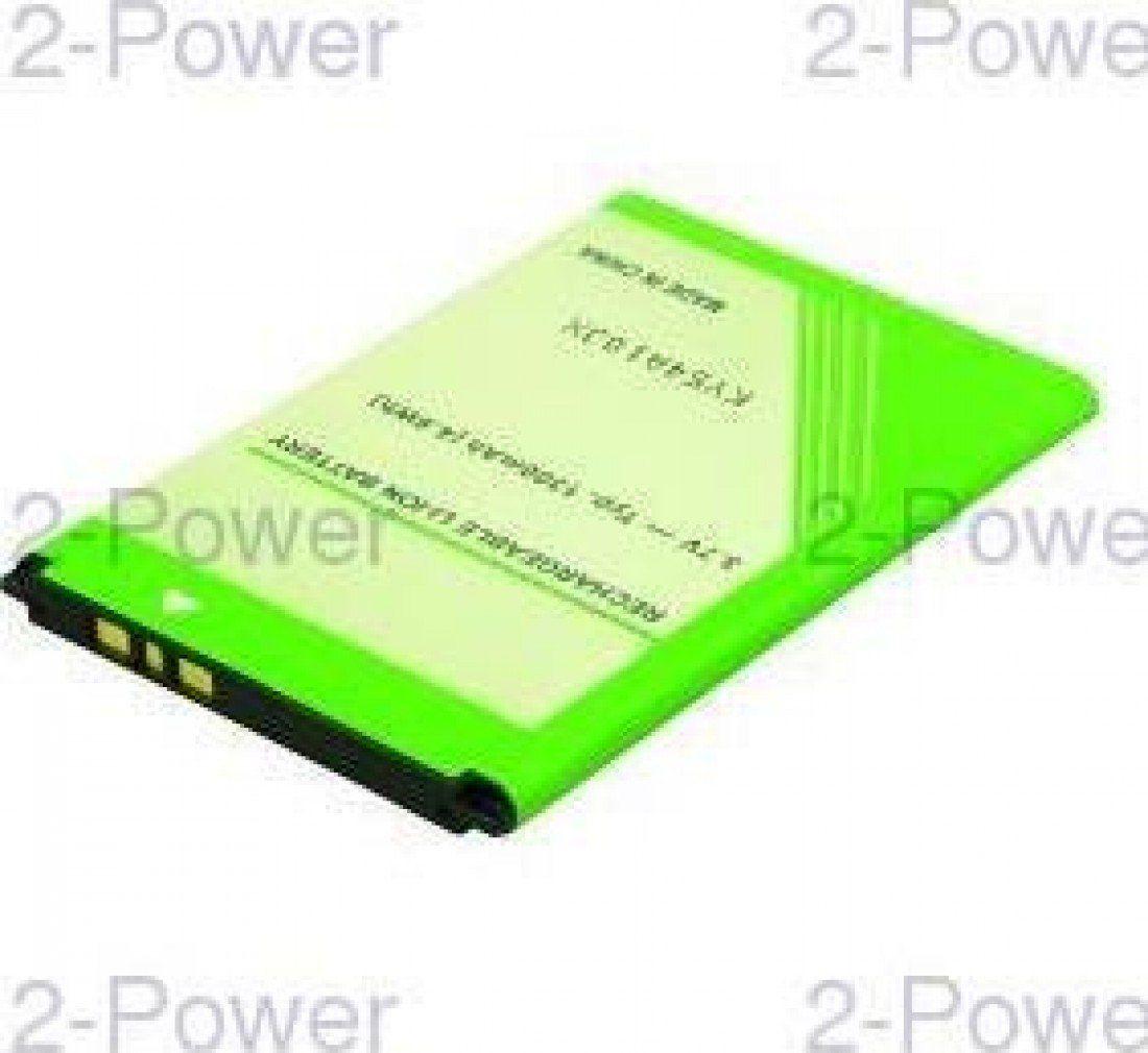 2-Power MBI0123A część zamienna do telefonu bateria/akumulator zielony - części zamienne do telefonów komórkowych (bateria/akumulator, Sony, zielony, litowo-jonowy (Li-Ion), 1300 mAh, 3,7 V)