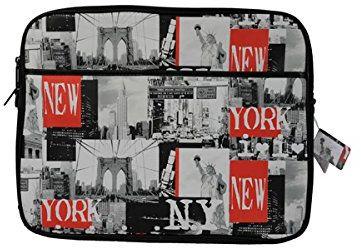 Akashi 492359 torba na ramię do notebooków 39,6 cm (15,6 cala) motyw London Vintage, wielokolorowa