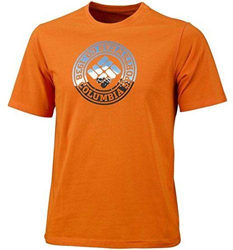Columbia Męska koszulka funkcyjna z krótkim rękawem CSC Tried and True Short Sleeve Tee, Valencia, L, EM1808