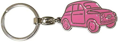Fiat 500 Etui na klucze, różowy (różowy) - FIKR17