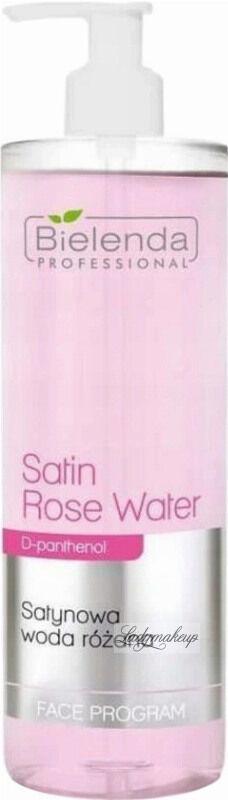 Bielenda Professional - Satin Rose Water - Satynowa woda różana do twarzy - 500 ml