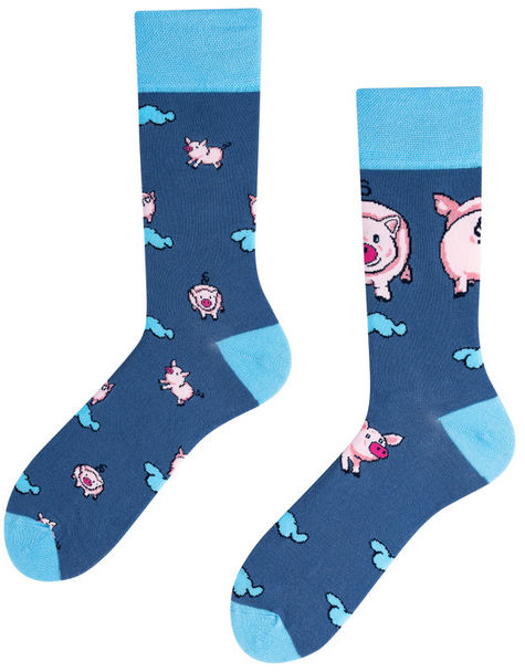 Little Piggy Kids, Todo Socks, Świnka, Kolorowe Skarpetki Dziecięce