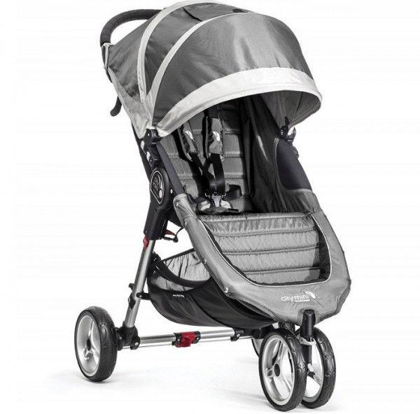 Baby Jogger City Mini Single wózek spacerowy steel gray