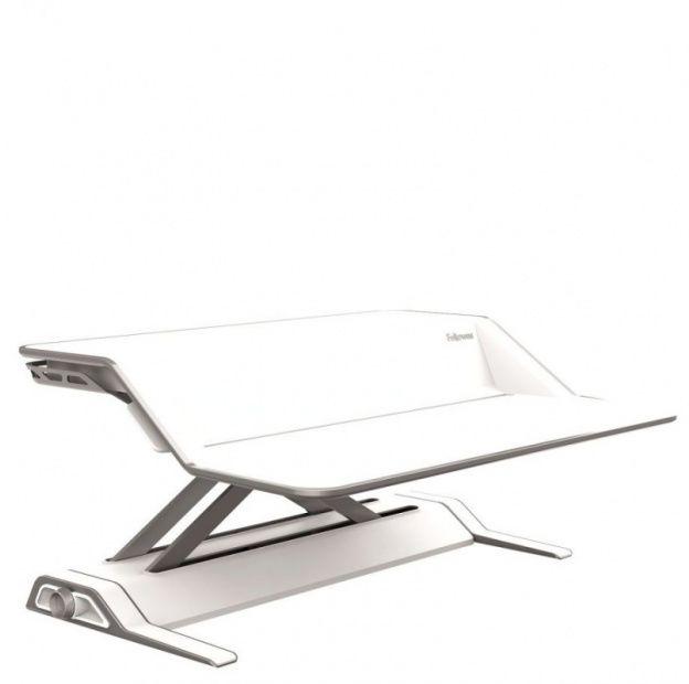 Stanowisko do pracy FELLOWES Sit-Stand Lotus - białe (0009901)