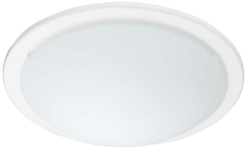 Plafon ICEBERG 37 cm biały okrągły 2 x E27 INSPIRE