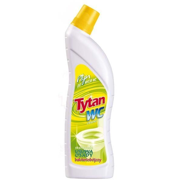 Płyn Do Wc Żółty 700ml Tytan