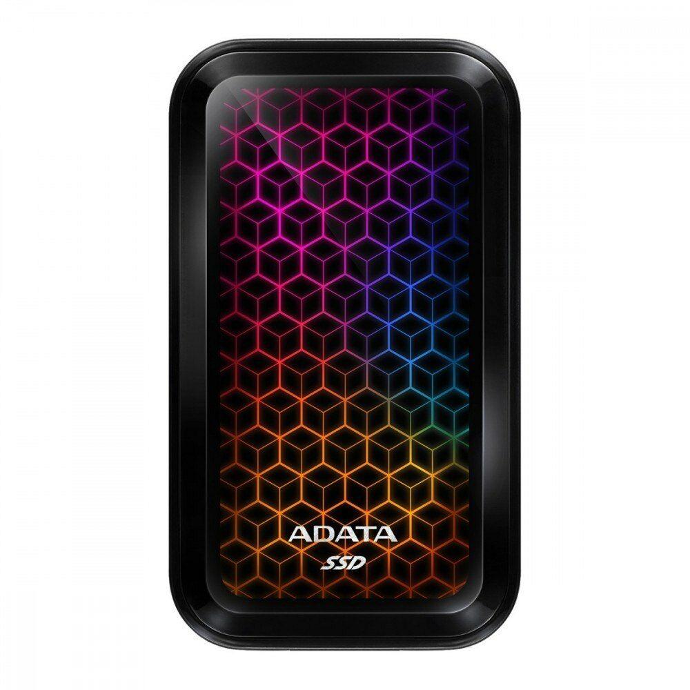 Adata Dysk zewnętrzny SSD SE770 1TB USB3.2-A/C RGB