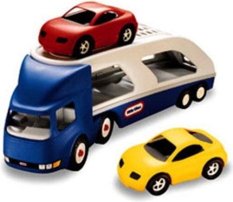 Little Tikes - Wielka naczepa do przewozu samochodów 170430