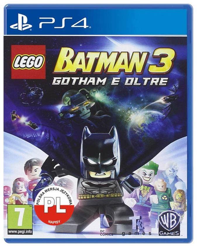 LEGO BATMAN 3 POZA GOTHAM / PL / PS4 / SKLEP WARSZAWA / URSYNÓW MOKOTÓW / CH LAND - METRO SŁUŻEW