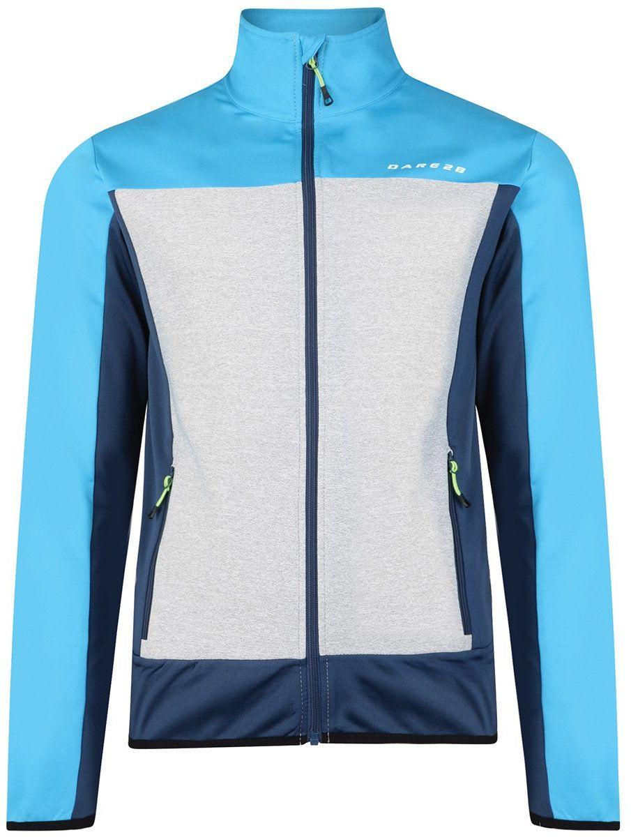 Dare 2b Męska Correlate rozciągliwa warstwa środkowa, swetry, Admrl/Flurob, XL