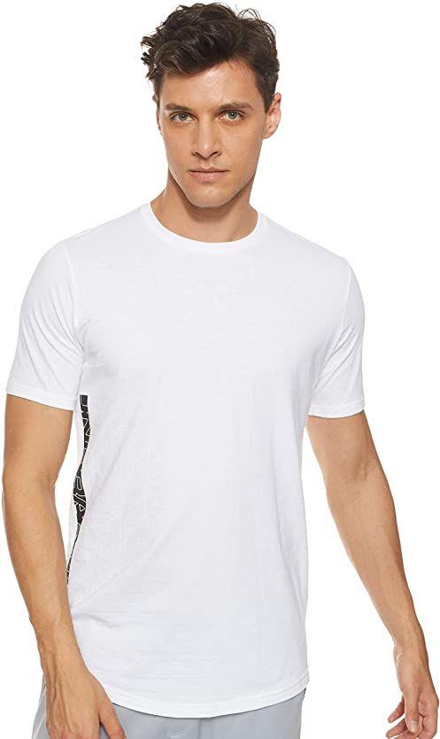 Under Armour Baseline męska koszulka z krótkim rękawem z krótkim rękawem White/Gray Flux/Black (100) L