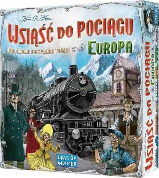 Wsiąść do pociągu: Europa REBEL