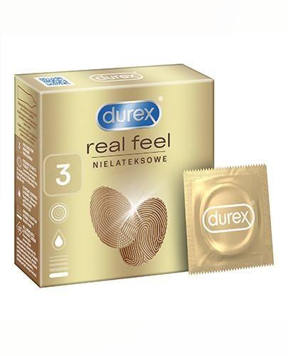 Durex RealFeel Ultra Smooth prezerwatywy 3 sztuki