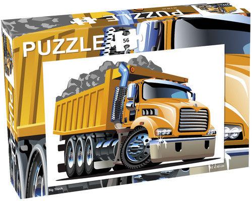 Puzzle Ciężarówka, Big truck 56 ZAKŁADKA DO KSIĄŻEK GRATIS DO KAŻDEGO ZAMÓWIENIA