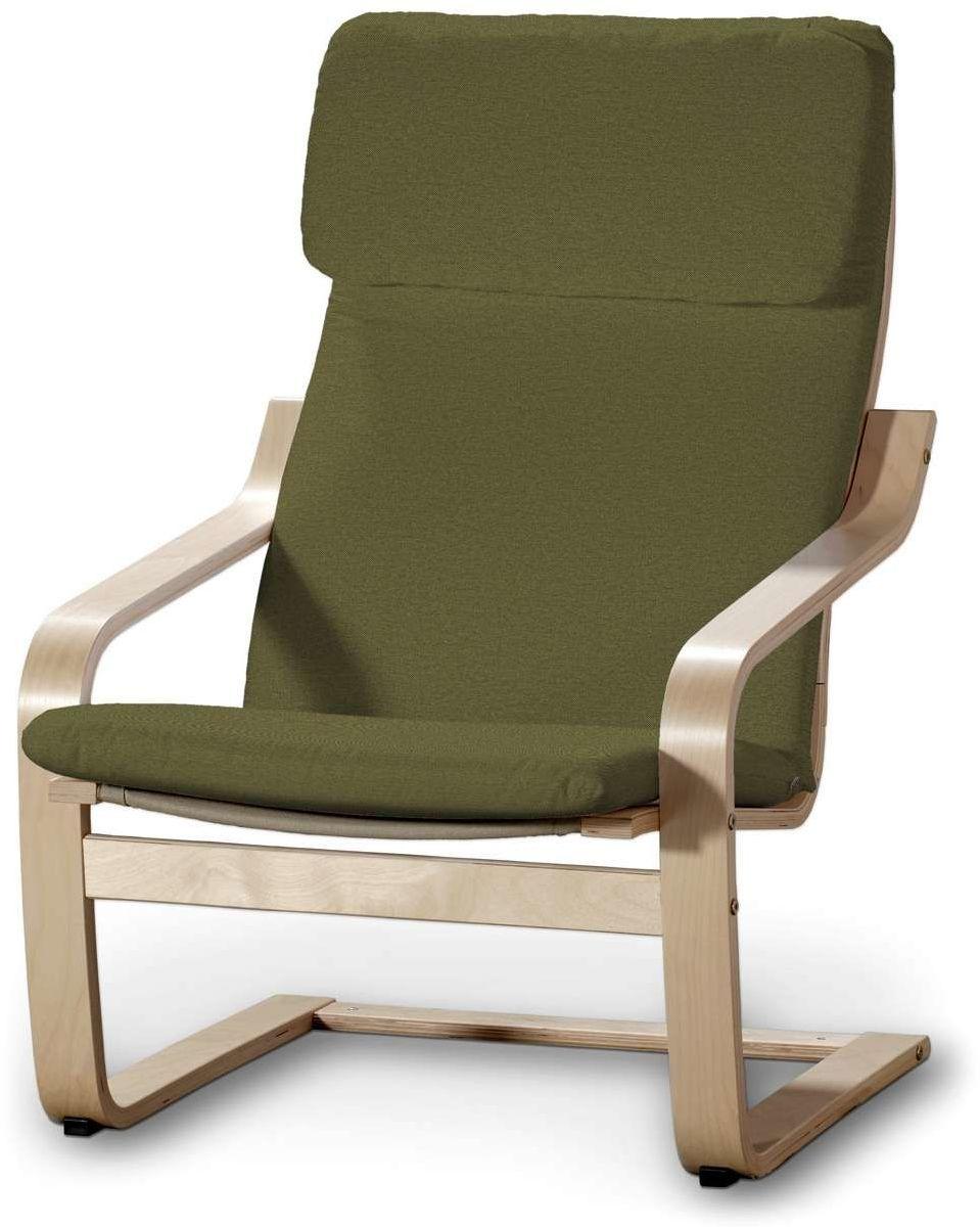 Poduszka na fotel Poäng, oliwkowa zieleń, Fotel Poäng, Etna