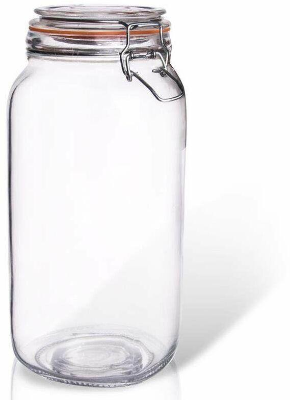 Słoik pojemnik szklany patentowy z klipsem BELA 2L