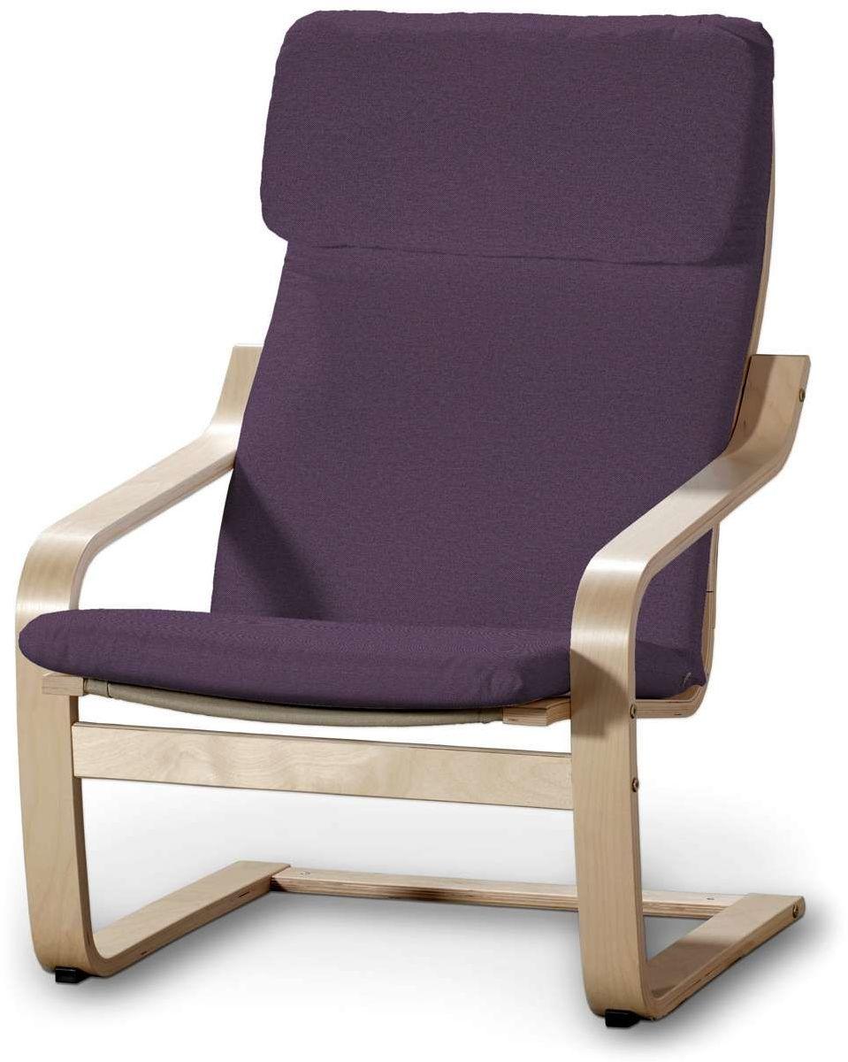 Poduszka na fotel Poäng, fioletowy, Fotel Poäng, Etna