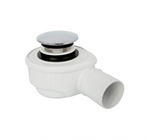 Syfon brodzikowy click-clak, odpływ ø50, czyszczony od góry