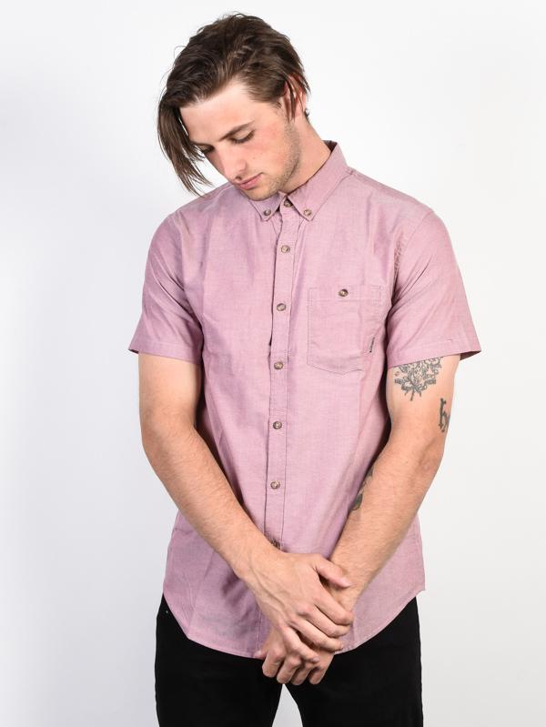 Billabong all day oxford FIG krótki rękaw koszulka męska - M